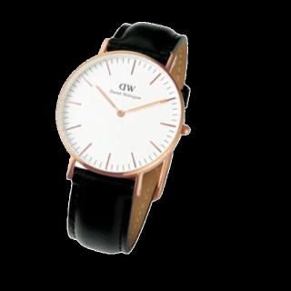 このコーデで使われているDaniel Wellingtonの腕時計[ブラック]