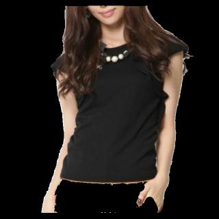 このコーデで使われているQUEENS COURTのTシャツ/カットソー[ブラック]