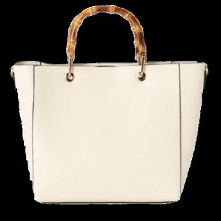 このコーデで使われているスローブイエナのハンドバッグ[ホワイト]