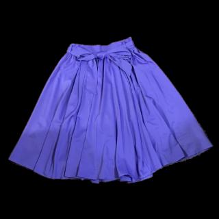 このコーデで使われているGRLのひざ丈スカート[パープル]