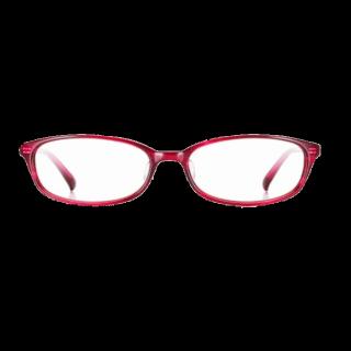 このコーデで使われているZoffのメガネ[ピンク]