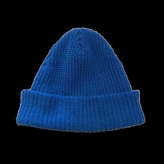 このコーデで使われているニット帽[ブルー]
