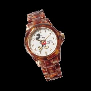 このコーデで使われている腕時計[ブラウン]