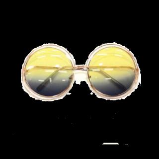 このコーデで使われているSHOPLISTのサングラス[イエロー/ブラック]