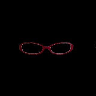 このコーデで使われているメガネ[レッド/ボルドー]