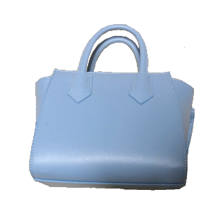 このコーデで使われているGUのハンドバッグ[ブルー]