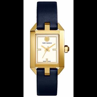 このコーデで使われているTORY BURCHの腕時計[ネイビー/ゴールド]