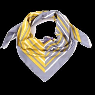 このコーデで使われているJILLSTUARTのスカーフ[イエロー/グレー]