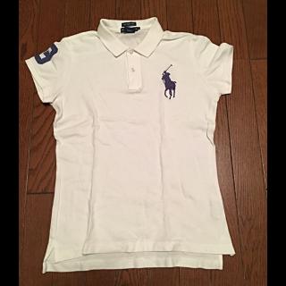 このコーデで使われているRALPH LAURENのポロシャツ[ホワイト]