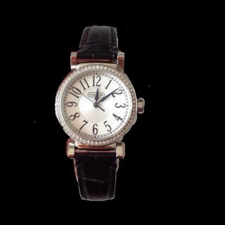 このコーデで使われているCOACHの腕時計[ブラック]
