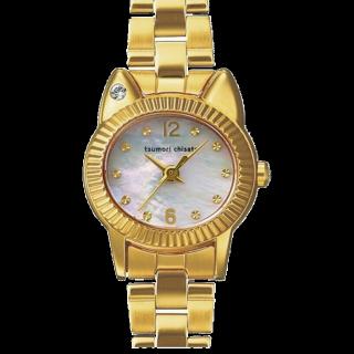このコーデで使われているTSUMORI CHISATOの腕時計[ゴールド]
