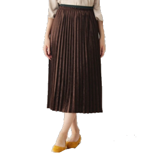 groveのミモレ丈スカート