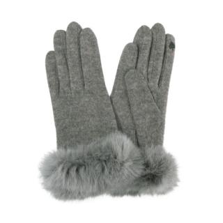このコーデで使われているGRLの手袋[グレー]