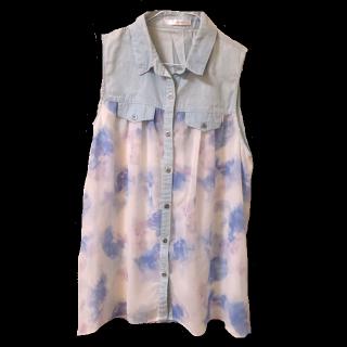 このコーデで使われているSpRayのTシャツ/カットソー[ブルー/ホワイト]