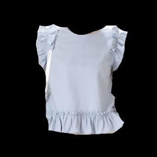 このコーデで使われているmysticのTシャツ/カットソー[ブルー]