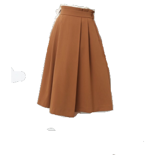 ViSのミモレ丈スカート