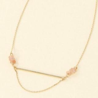 このコーデで使われているROPE' PICNICのネックレス[ピンク]