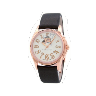 このコーデで使われているHAMILTONの腕時計[ブラウン]