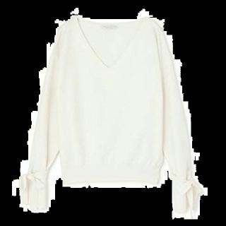 このコーデで使われているPROPORTION BODY DRESSINGのニット/セーター[ホワイト]