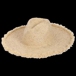 このコーデで使われているLagunaMoonの麦わら帽子[ベージュ]
