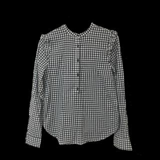 このコーデで使われているH&Mのシャツ/ブラウス[ブラック/ホワイト]