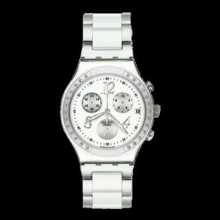 このコーデで使われているSwatchの腕時計[ホワイト]