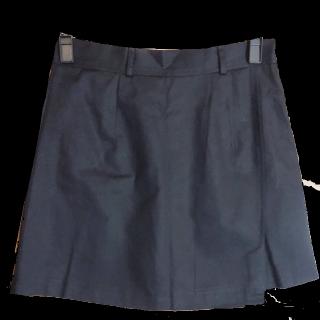 このコーデで使われているゴゴシングのミニスカート[ブラック]