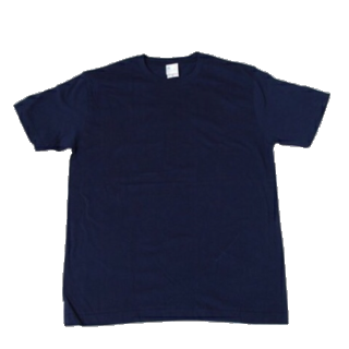 このコーデで使われているUNIQLOのTシャツ/カットソー[ネイビー]