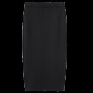 このコーデで使われているGUのタイトスカート[ブラック]