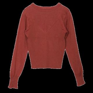 Ameri vintageのニット/セーター