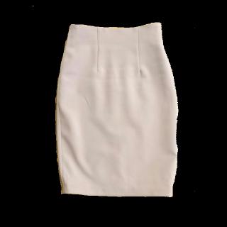 このコーデで使われているdholicのミモレ丈スカート[ピンク]