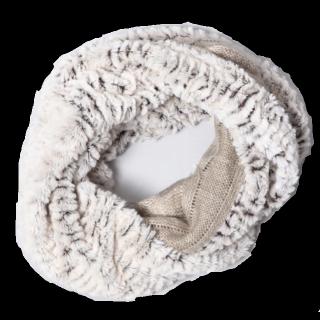 このコーデで使われているJEANASISのスヌード[ホワイト]