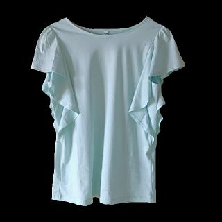 このコーデで使われているUNIQLOのTシャツ/カットソー[グリーン]