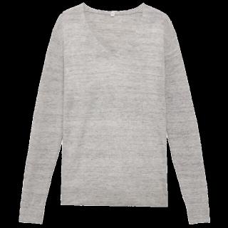 このコーデで使われているMUJI(無印良品)のニット/セーター[グレー]