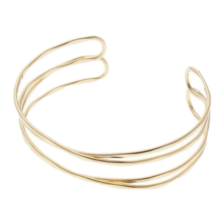 このコーデで使われているpassage mignon/flaneurのブレスレット[ゴールド]