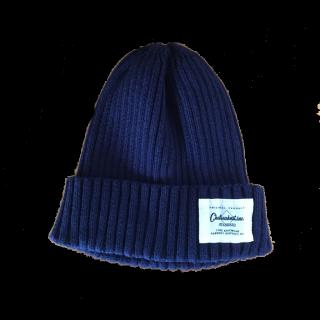 このコーデで使われているOLD NAVYのニット帽[ネイビー]