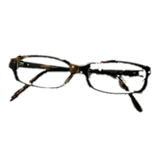 このコーデで使われているBALLYのメガネ[ブラウン/キャメル]