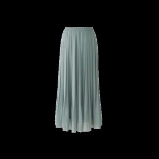 このコーデで使われているUNIQLOのプリーツスカート[グリーン]