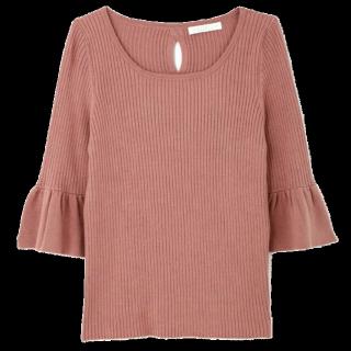 このコーデで使われているPROPORTION BODY DRESSINGのニット/セーター[ピンク]