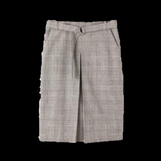 このコーデで使われている22 OCTOBREのタイトスカート[グレー/ブラック]