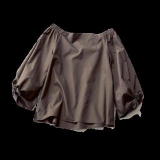 このコーデで使われているシャツ/ブラウス[ブラウン]
