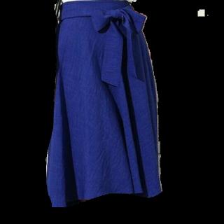 このコーデで使われているROPE' PICNICのミモレ丈スカート[ブルー]