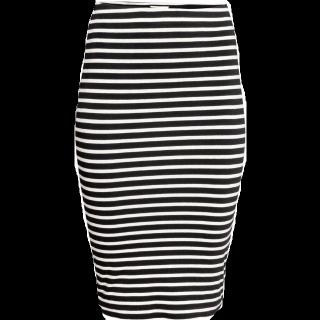 このコーデで使われているH&Mのタイトスカート[ブラック]