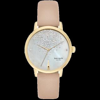 このコーデで使われているkate spade new yorkの腕時計[ベージュ/ゴールド/ホワイト/シルバー]