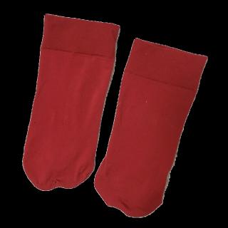 このコーデで使われている靴下屋のソックス[レッド]