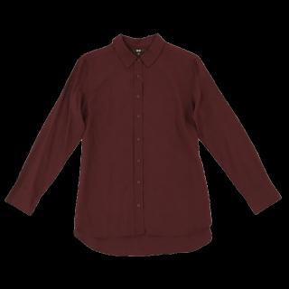 このコーデで使われているGUのシャツ/ブラウス[ボルドー]