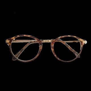 このコーデで使われているSHOO-LA-RUEのメガネ[キャメル/ブラウン]