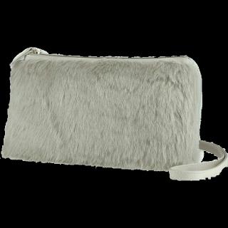 このコーデで使われているUNIQLOのハンドバッグ[グレー]