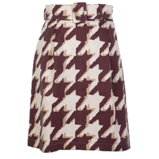 このコーデで使われているF i.n.tのスカート[ブラウン/ベージュ]