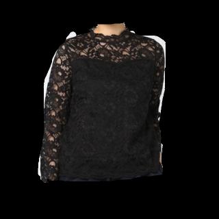 このコーデで使われているINGNIのシャツ/ブラウス[ブラック]